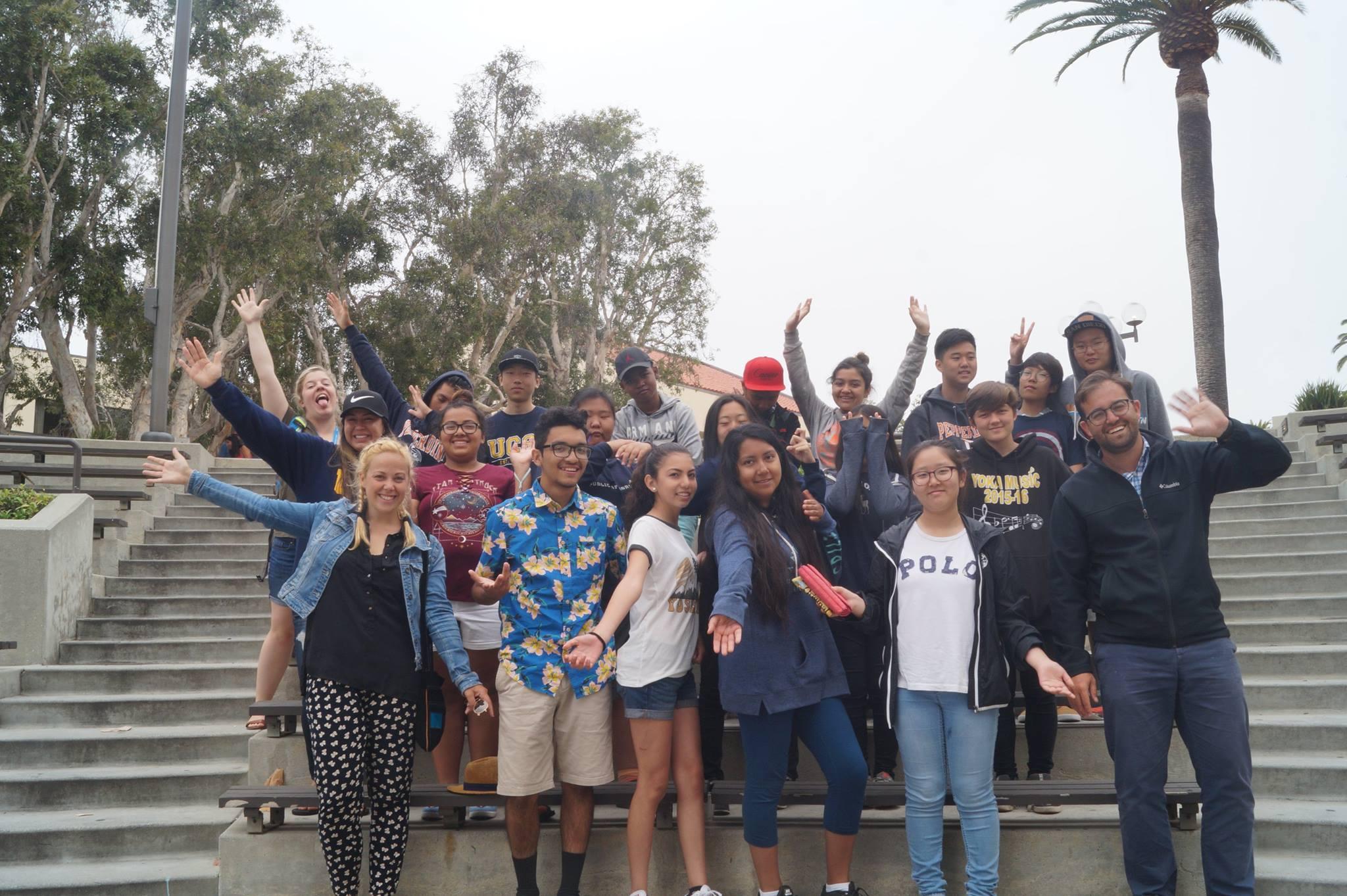 RKHS students on field trip