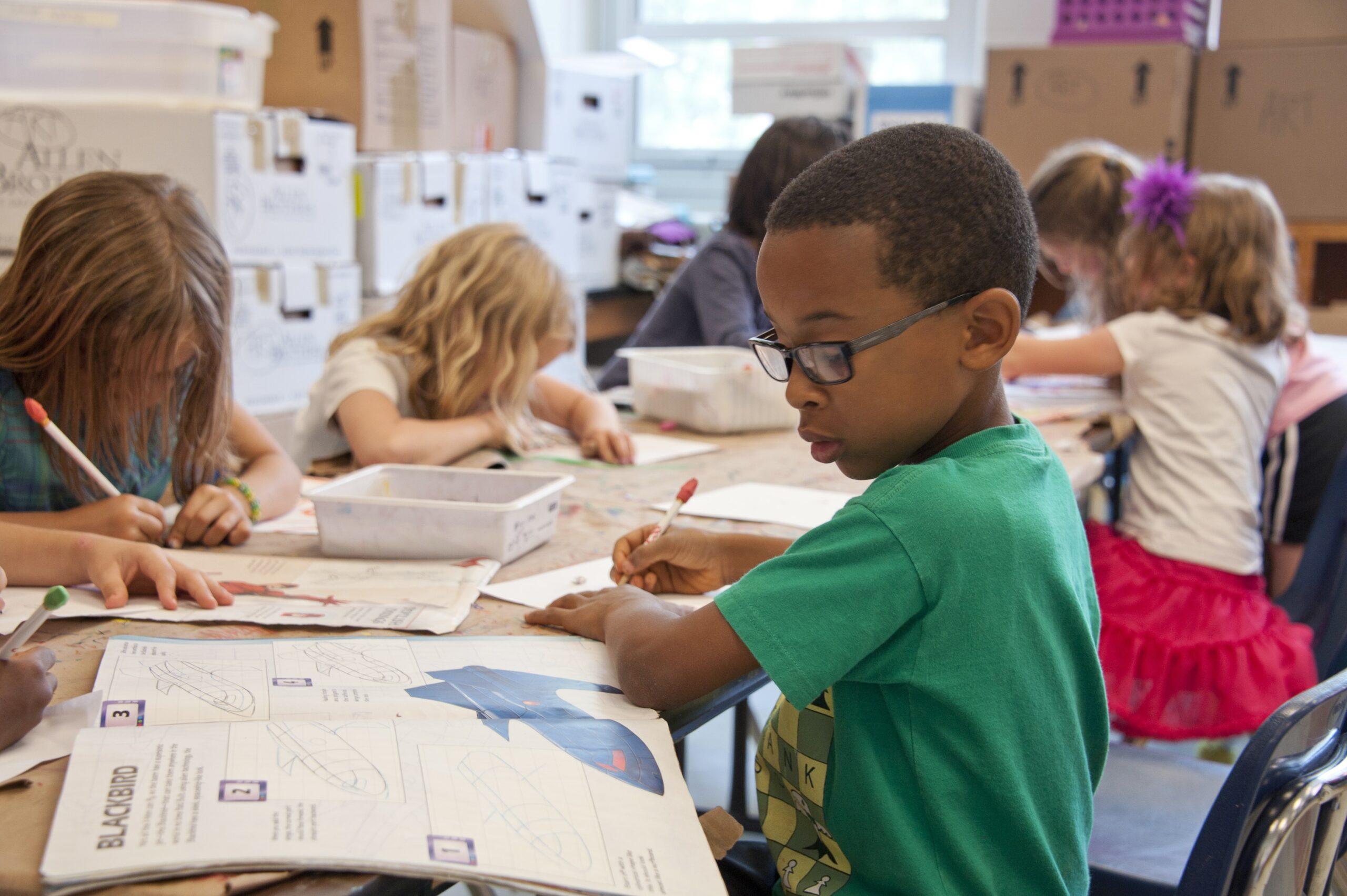 NTC Careers Page: Kids at school